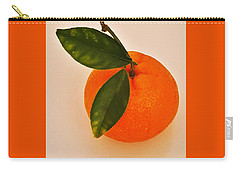 Tangerine By Nature Carry-all Pouch
