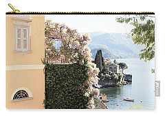 Yellow And Lavender Vista Carry-all Pouch
