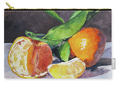 Tangerines Carry-all Pouch