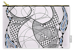 Tangle Monster Drawing Carry-all Pouch