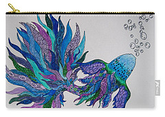 Tangled Fish 4 Carry-all Pouch