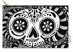 Tangled Skull Carry-all Pouch