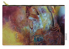 Tango Couple Dance Vby7 Carry-all Pouch by Gull G