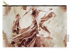Carry-all Pouch featuring the painting Tango Dance 9910j by Gull G