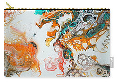 Tango With Turquoise Carry-all Pouch