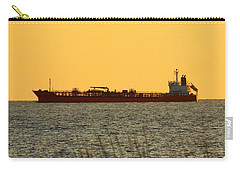 Tanker At Sunrise Carry-all Pouch