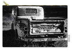 Taos Dodge B-w Carry-all Pouch
