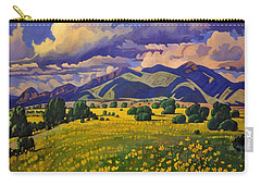 Taos Fields Of Yellow Carry-all Pouch