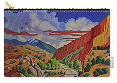 Taos Gorge Journey Carry-all Pouch