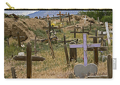 Taos Pueblo Cemetery Carry-all Pouch