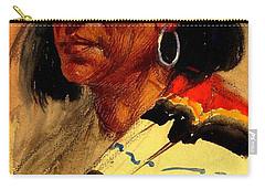 Taos Pueblo Indian Circa 1918 Carry-all Pouch