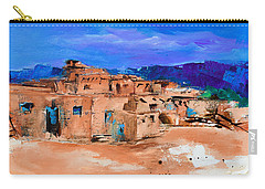 Taos Pueblo Village Carry-all Pouch