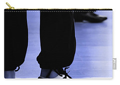 Tap Dance In Blue Are Shoes Tapping In A Dance Academy Carry-all Pouch