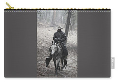 Tapadero Cowboy Carry-all Pouch by Diane Bohna