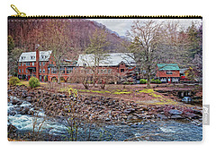 Carry-all Pouch featuring the photograph Tapoco Lodge by Debra and Dave Vanderlaan