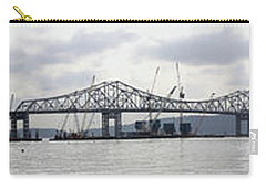 Tappan Zee Bridge From Tarrytown Carry-all Pouch by Suhas Tavkar