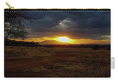 Tarangire Sunset Carry-all Pouch