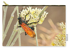 Tarantula Hawk Carry-all Pouch by Sean Griffin