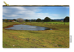 Carry-all Pouch featuring the photograph Taree West 666 by Kevin Chippindall