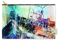 Target Field Us Bank Staduim  Carry-all Pouch by Susan Stone