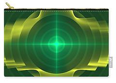 Carry-all Pouch featuring the digital art Target by Svetlana Nikolova