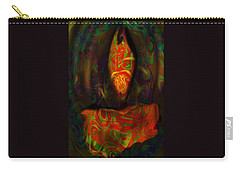 Tarot Candle Carry-all Pouch by Kevin Caudill