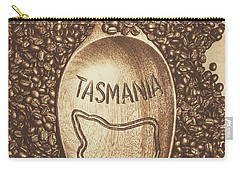 Carry-all Pouch featuring the photograph Tasmania Coffee Beans by Jorgo Photography - Wall Art Gallery