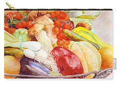 Tastes Of Tuscany Carry-all Pouch by Bonnie Rinier
