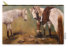 Tatanka Star Pony And The Spirit Of Unbridled Love Carry-all Pouch