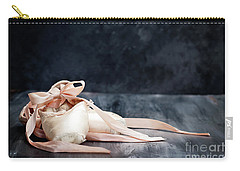 Tattered Ballerina Slippers Carry-all Pouch