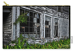 Tattered Color Signed Carry-all Pouch