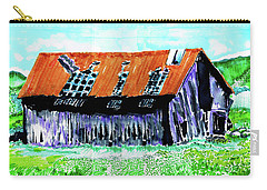 Tattered Prairie Barn Carry-all Pouch