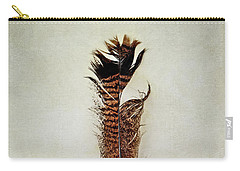 Tattered Turkey Feather Carry-all Pouch