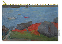 Carry-all Pouch featuring the painting Taunton Bay by Francine Frank