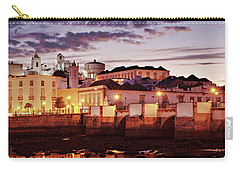 Carry-all Pouch featuring the photograph Tavira At Dusk - Portugal by Barry O Carroll