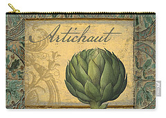 Tavolo, Italian Table, Artichoke Carry-all Pouch by Mindy Sommers