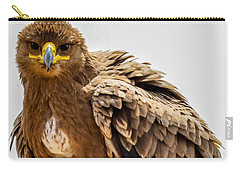 Tawny Eagle Close Up Carry-all Pouch