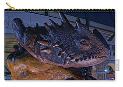Carry-all Pouch featuring the photograph Tcu Frog Mascot by Jonathan Davison