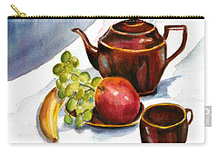 Tea And Fruit Carry-all Pouch