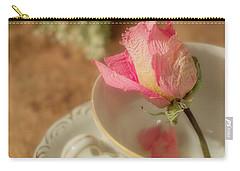 Tea And Roses Carry-all Pouch