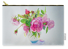 Tea Rose Carry-all Pouch by Beatrice Cloake