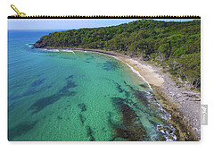 Carry-all Pouch featuring the photograph Tea Tree Bay In Noosa National Park by Keiran Lusk
