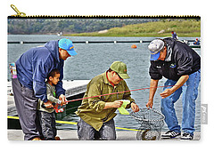 Teach Him To Fish Carry-all Pouch