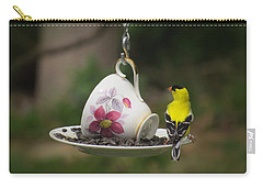 Teacup Finch Carry-all Pouch