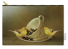 Teacup Goldfinch Feeder Carry-all Pouch