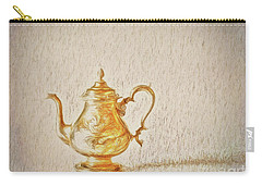 Teapot  ... Carry-all Pouch by Chuck Caramella