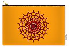 Teardrop Fractal Mandala Carry-all Pouch