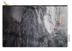 Carry-all Pouch featuring the digital art Tears Of Ice by Gun Legler
