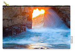 Tears Of The Sun Carry-all Pouch by Jonathan Nguyen
