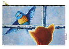 Teasing Bird Carry-all Pouch